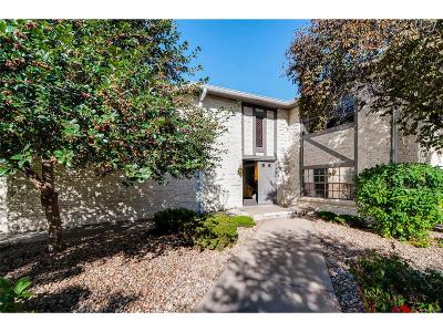 Denver Condo/Townhouse Active: 5751 East Ithaca Place #3