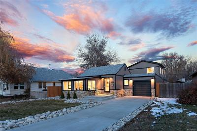 Arvada Single Family Home Under Contract: 5622 Ammons Street