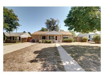 Denver Single Family Home Active: 3318 South Fairfax Street