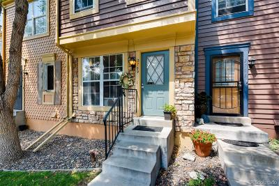 Centennial Condo/Townhouse Under Contract: 2789 East Nichols Circle