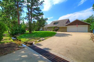 Wheat Ridge Single Family Home Under Contract: 37 Skyline Drive