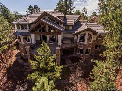 Castle Pines Single Family Home Active: 1307 Forest Trails Drive