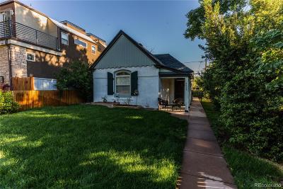 Denver Single Family Home Active: 4415 West 35th Avenue