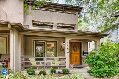 Denver Condo/Townhouse Active: 1754 South Sherman Street
