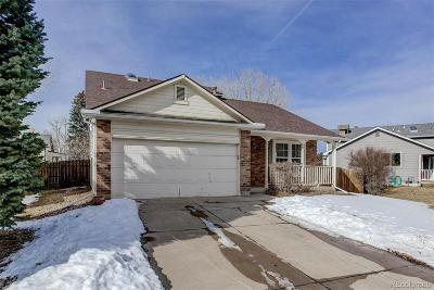 Littleton Single Family Home Under Contract: 6057 South Simms Court