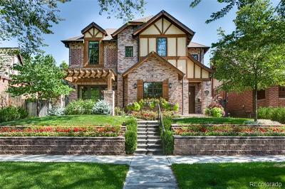 Denver Single Family Home Active: 1310 South Humboldt Street