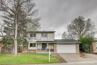 Broomfield Single Family Home Under Contract: 3422 North Princess Circle