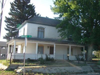 Calhan Single Family Home Active: 510 Boulder Street