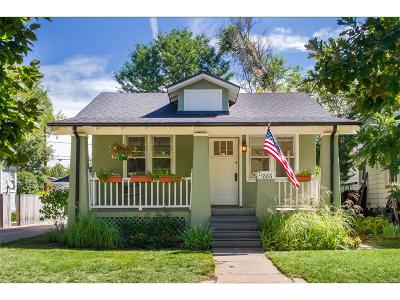 Single Family Home Under Contract: 1886 South Humboldt Street