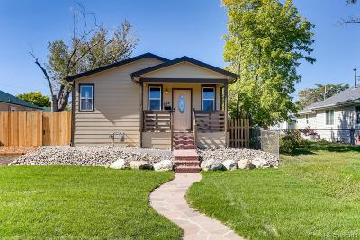 Denver Single Family Home Active: 609 Tennyson Street