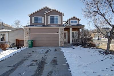 Highlands Ranch Single Family Home Under Contract: 2588 Foothills Canyon Court