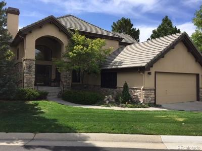 Castle Pines Village, Castle Pines Villages Single Family Home Active: 3127 Ramshorn Drive