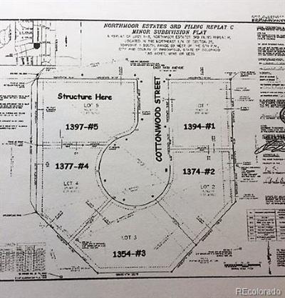 Broomfield Residential Lots & Land Active: 1354 Cottonwood Street