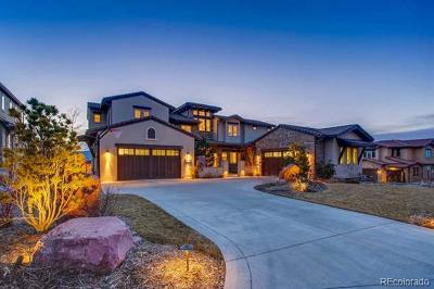 Highlands Ranch Single Family Home Active: 10845 Rainribbon Road