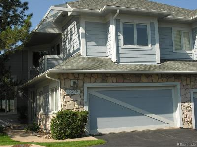 Castle Rock Condo/Townhouse Active: 2322 Emerald Drive