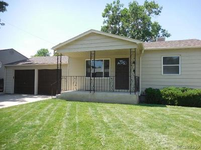 Commerce City Single Family Home Active: 7901 Niagara Street