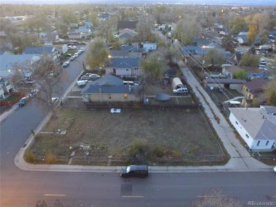 Denver Residential Lots & Land Active: 3451 West Walsh Place