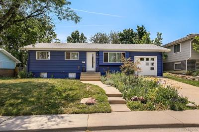 Boulder CO Single Family Home Under Contract: $749,900