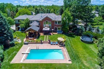 Cherry Hills Village CO Single Family Home Active: $2,775,000