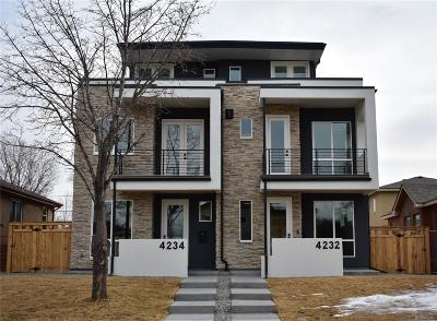 Denver County Condo/Townhouse Active: 4232 Perry Street