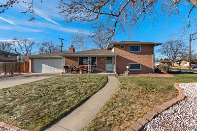 Wheat Ridge Single Family Home Under Contract: 3865 Allison Street