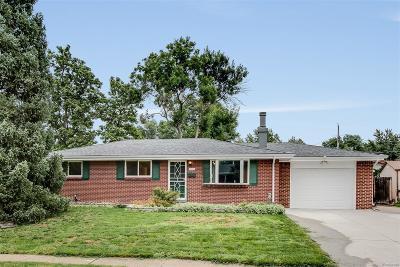 Centennial Single Family Home Active: 6634 South Clarkson Street