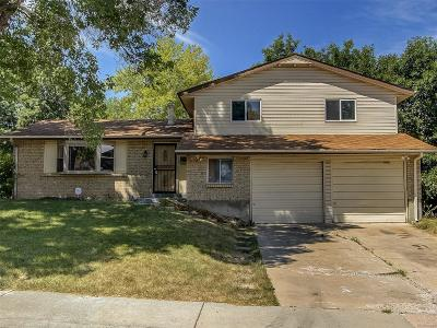 Westminster Single Family Home Active: 9255 Perry Street