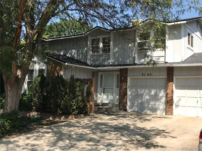 Westminster Single Family Home Under Contract: 9140 Garrison Street
