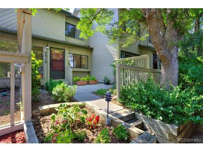 Boulder Condo/Townhouse Active: 4015 Wonderland Hill Avenue