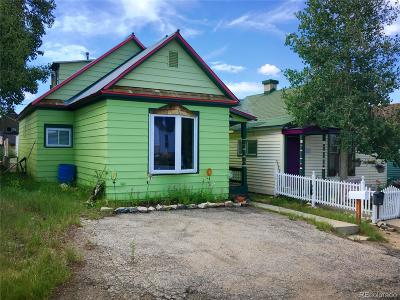 Leadville Single Family Home Under Contract: 421 East 10th Street