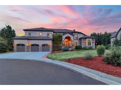 Castle Pines CO Single Family Home Under Contract: $1,300,000