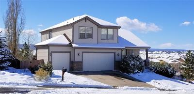 Crystal Valley Ranch Single Family Home Under Contract: 542 Eaglestone Drive