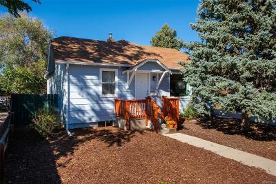 Denver Single Family Home Active: 3471 West Exposition Avenue