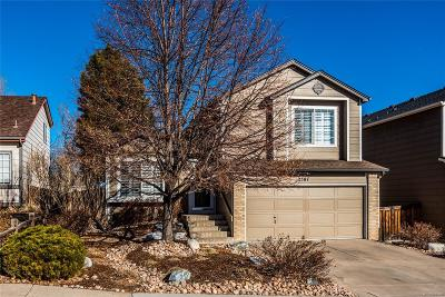 Highlands Ranch Single Family Home Under Contract: 2587 Foothills Canyon Court