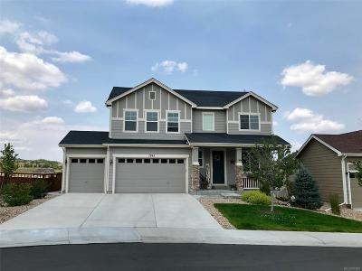 Castle Rock Single Family Home Under Contract: 7745 Grady Circle