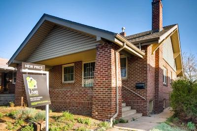 Single Family Home Active: 3443 West 35th Avenue