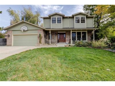 Littleton Single Family Home Under Contract: 7204 South Houstoun Waring Circle