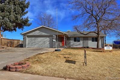 Northglenn Single Family Home Active: 11150 Acoma Street