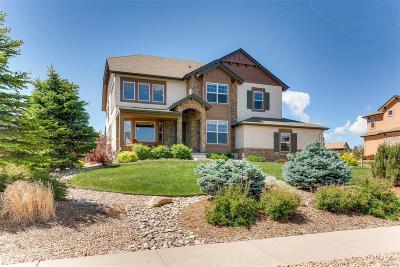 Castle Rock Single Family Home Under Contract: 7076 Fallon Circle