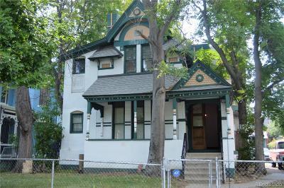 Denver Single Family Home Active: 2634 Curtis Street
