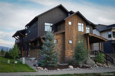 Steamboat Springs Single Family Home Active: 755 Angels View Way