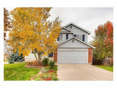 Longmont Single Family Home Under Contract: 2203 Boise Court