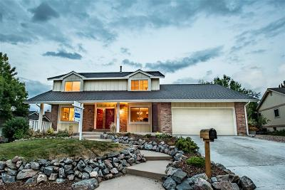 Centennial Single Family Home Under Contract: 7562 South Newport Court