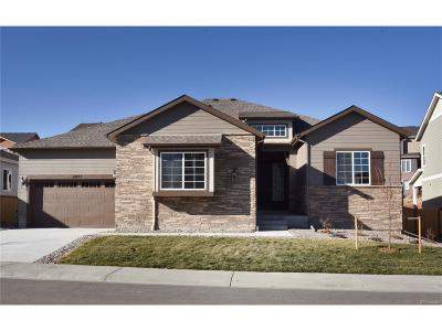 Castle Rock Single Family Home Under Contract: 4071 Spanish Oaks Court