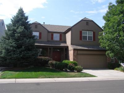 Highlands Ranch Single Family Home Under Contract: 1730 Spring Water Place