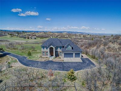 Castle Rock Single Family Home Active: 2703 Castle Butte Drive