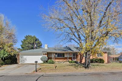 Lakewood Single Family Home Under Contract: 6449 West 3rd Place