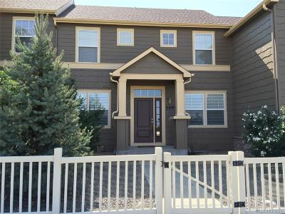 Castle Rock Condo/Townhouse Under Contract: 3893 Ute Mountain Trail