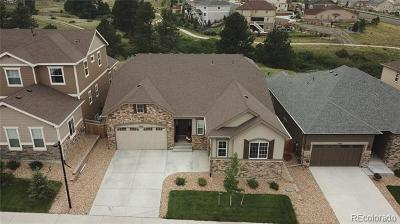 Castle Rock CO Single Family Home Active: $650,000