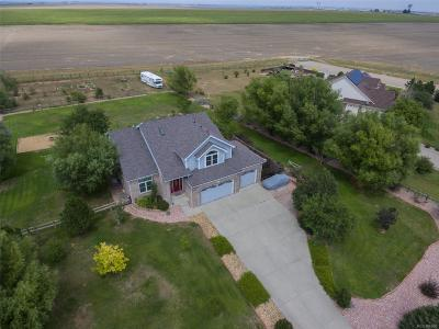 Mead Single Family Home Active: 18715 Wagon Trail